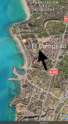 ÁTICO EN ALICANTE ,  EL CAMPELLO - foto 2