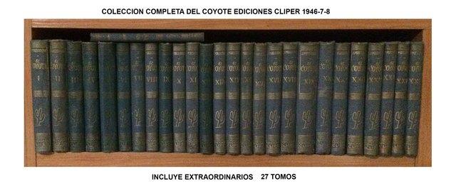 EL COYOTE ED. COMPLETA 27 TOMOS 1947 - foto 1