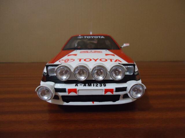 Toyota Celica Carlos Sainz Otto 1:18