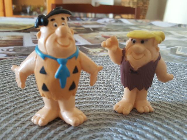 Figuras Pablo Marmol Y Pedro Picapiedra