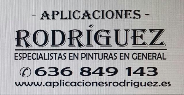 PINTURAS Y APLICACIONES RODRÍGUEZ - foto 7