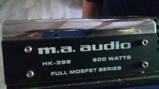 AMPLIFICADOR MA AUDIO 600 WATT - foto 4