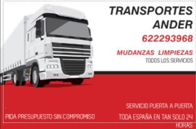 TRANSPORTES Y MUDANZAS ANDER - foto 1