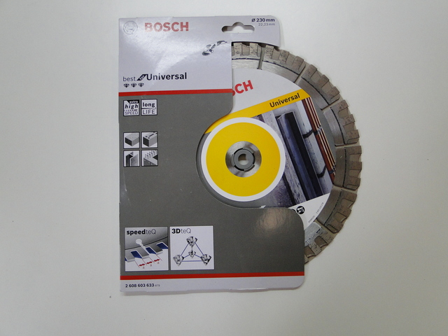 Bosch Disco Diamante Universal 230Mm