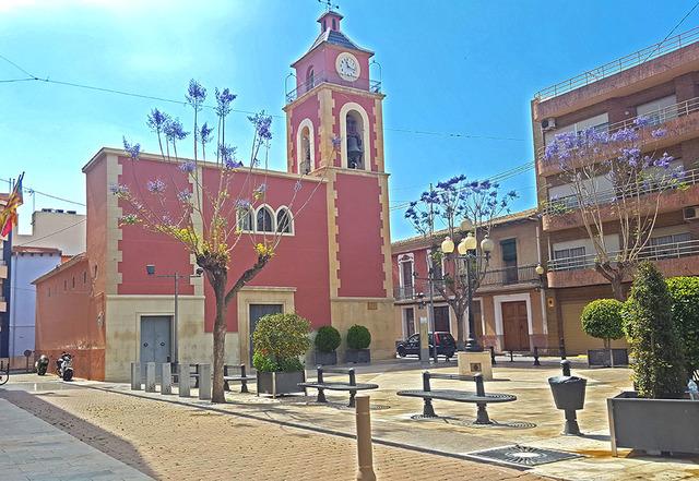 Plaza canalejas El Campello