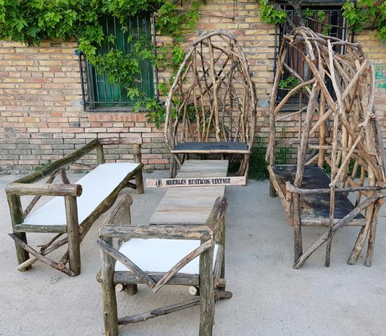 Muebles De Jardin En.Muebles De Jardin Rusticos Y Industrial