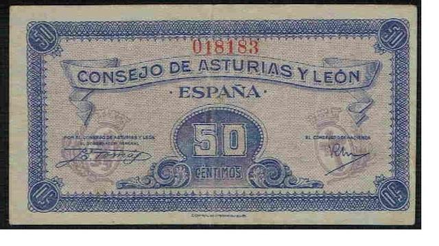 50 Céntimos De Asturias Y León