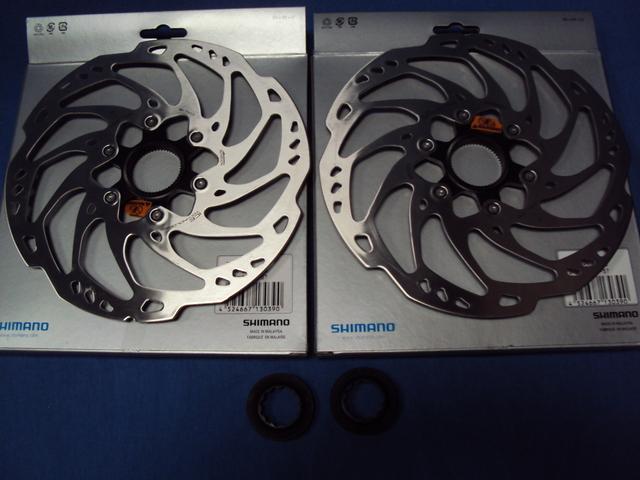 Nuevos Disco Frenos Shimano Slx Rt70 Ice
