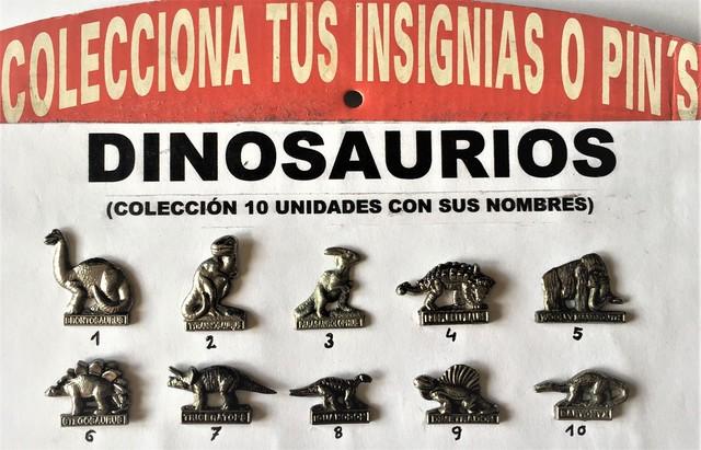 Colección De 10 Piezas, Dinosaurios