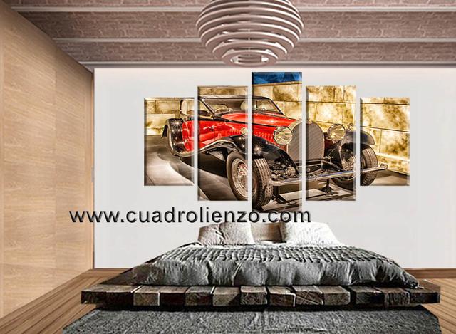 CUADROS IMPRESOS DE COCHES CLASICOS - foto 3