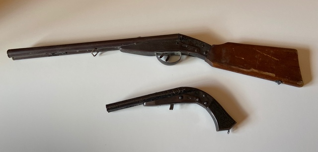 Pistola Y Escopeta Juguete Cachorro