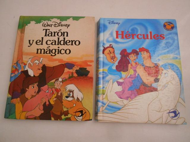 2 LIBROS DISNEY: TARÓN CALDERO Y HÉRCULES - foto 1