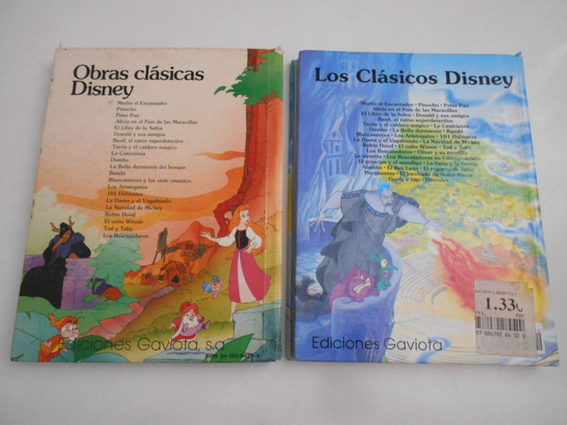 2 LIBROS DISNEY: TARÓN CALDERO Y HÉRCULES - foto 2