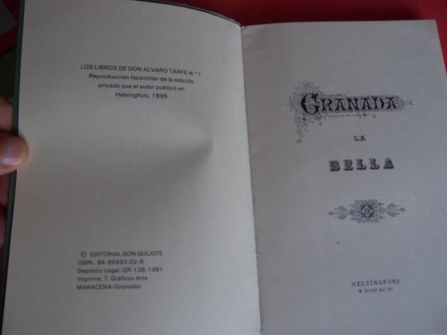 GRANADA LA BELLA-ÁNGEL GANIVET, 1981 - foto 2