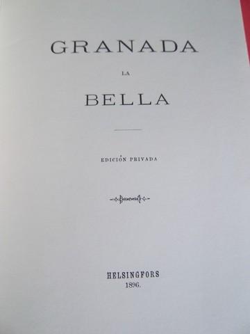 GRANADA LA BELLA-ÁNGEL GANIVET, 1981 - foto 3