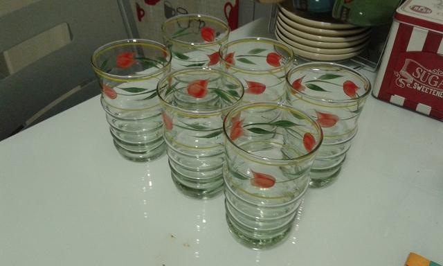 Vasos De Cristal Decorados