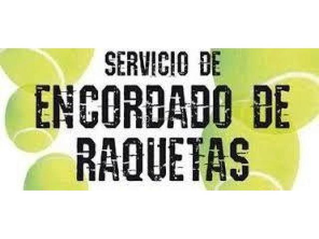 ENCORDADO DE RAQUETAS - foto 1