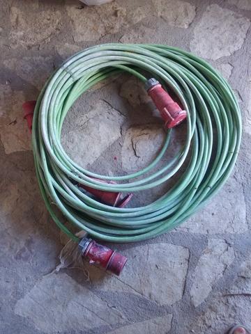 Cable Trifásico  Maquinaria Obra