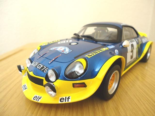 Alpine Renault A110 1:18