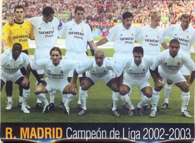 Реал мадрид 2002 2003