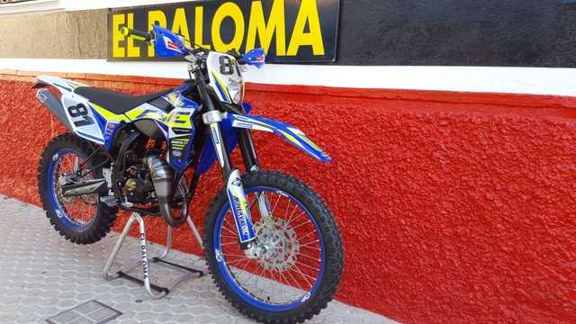 Tnt motocross y enduro manillar 820mm en plata
