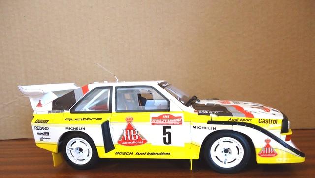 Audi S1 Quattro San Remo 1:18