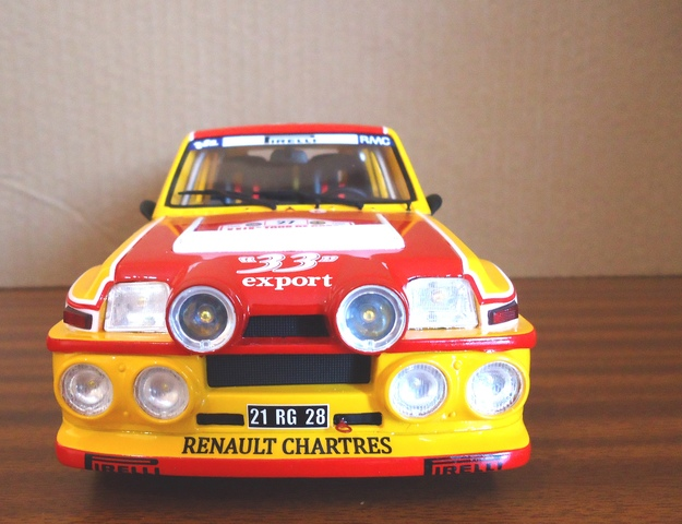 Renault 5 Maxi Turbo Auriol 1:18