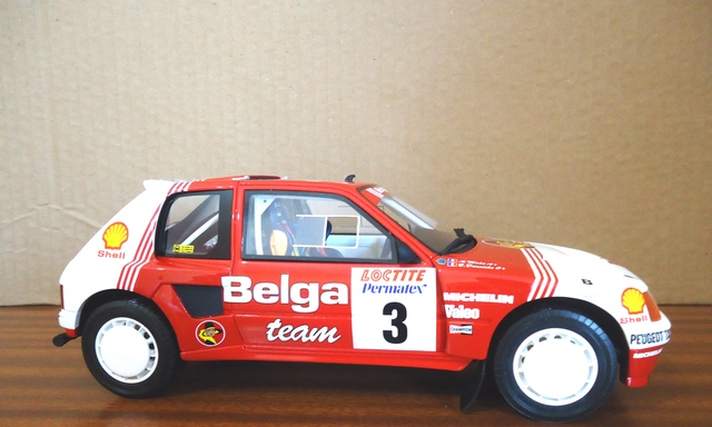 Peugeot 205 Rallye 1:18