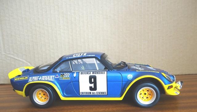 Alpine A110 Rallye 1:18