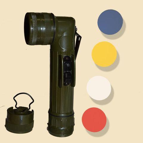 Linterna De Codo Militar-Us Army (21 Cm)