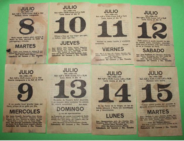 Calendario 1958.Mil Anuncios Com Calendario De 1958 Coleccionar Calendarios
