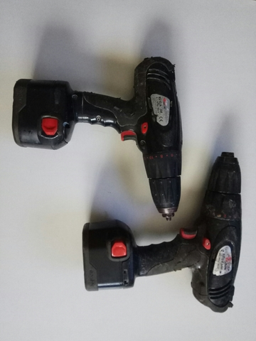 Dos Taladros De Baterias Wurth Bs12A