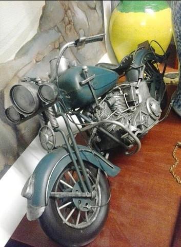 Moto Harley - Davidson Vintage Artesanal