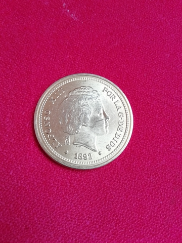 Moneda De 20 Pesetas