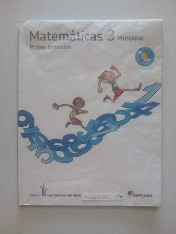 LIBROS DE MATEMÁTICAS DE 3° PRIMARIA - foto 1