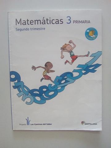 LIBROS DE MATEMÁTICAS DE 3° PRIMARIA - foto 2