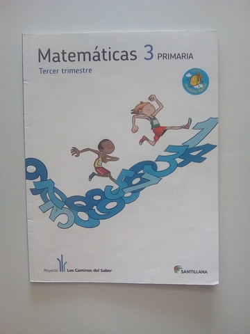 LIBROS DE MATEMÁTICAS DE 3° PRIMARIA - foto 3