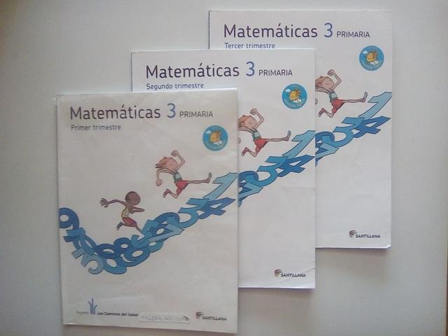 LIBROS DE MATEMÁTICAS DE 3° PRIMARIA - foto 4
