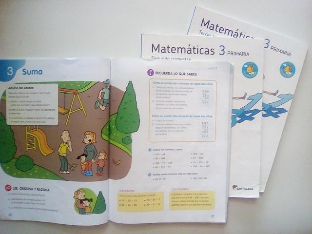 LIBROS DE MATEMÁTICAS DE 3° PRIMARIA - foto 6