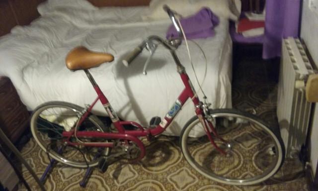 Bicicleta Vintage Plegable  Española