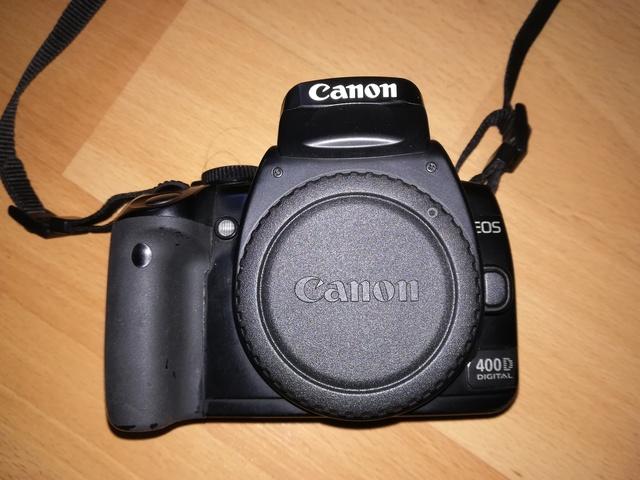 CÁMARA REFLEX DIGITAL CANON 400D EOS - foto 1