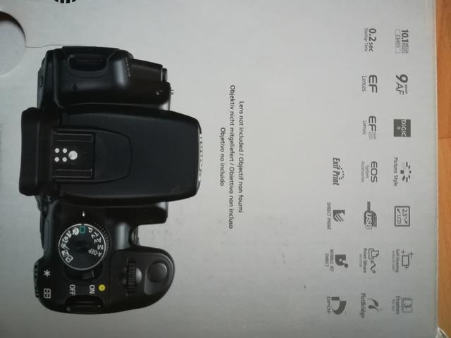 CÁMARA REFLEX DIGITAL CANON 400D EOS - foto 5
