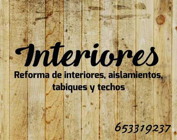 TECHOS TABIQUES Y TRASDOSADOS - foto 1