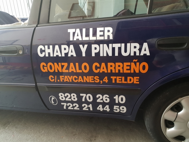 TALLER CHAPA Y PINTURA GONSALO CARREÑO - foto 1