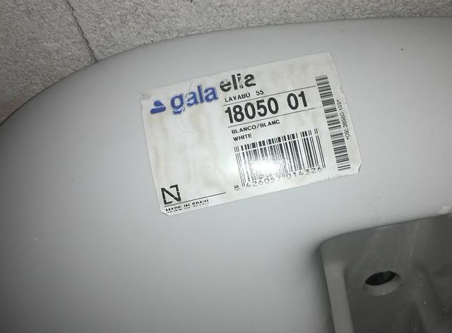 Lavabo Gala Elia.Lavabo Gala Modelo Elia Nuevo Con Pie