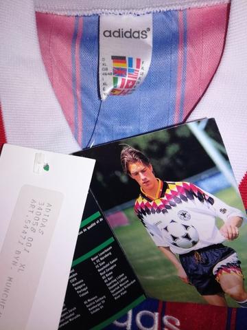 ADIDAS BAYERN MUNICH 1995-1996 NUEVA - foto 6
