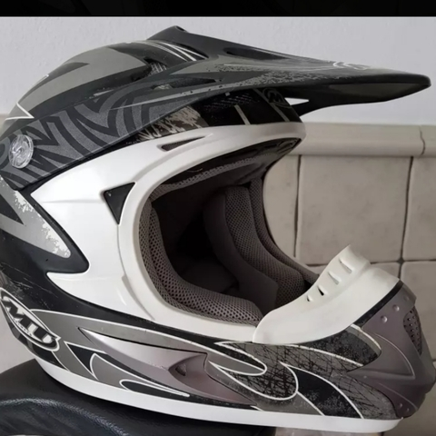 CASCO CROSS MT + GAFAS SCOOT - foto 1