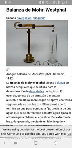 Balanza De Laboratorio Antigua
