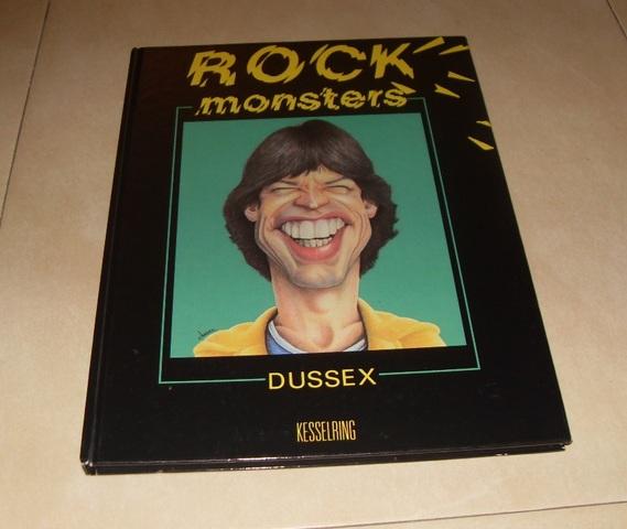 LIBRO DE CARICATURAS ROCK MONSTERS - foto 1