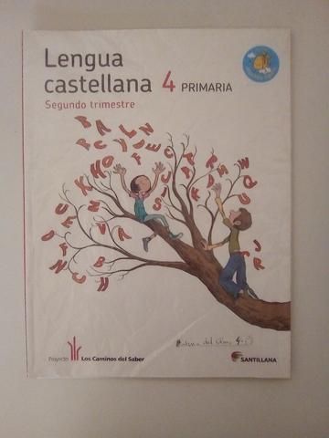 LIBROS DE LENGUA 4° PRIMARIA SANTILLANA - foto 2